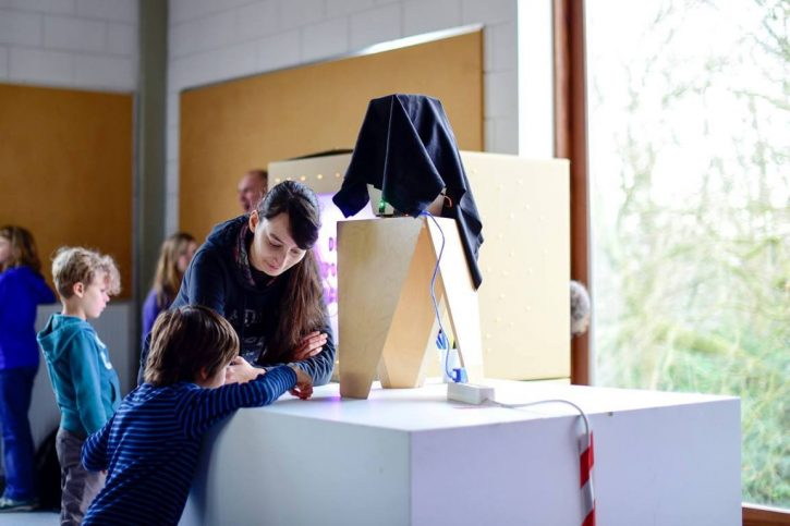 Expo work in progress in Howest