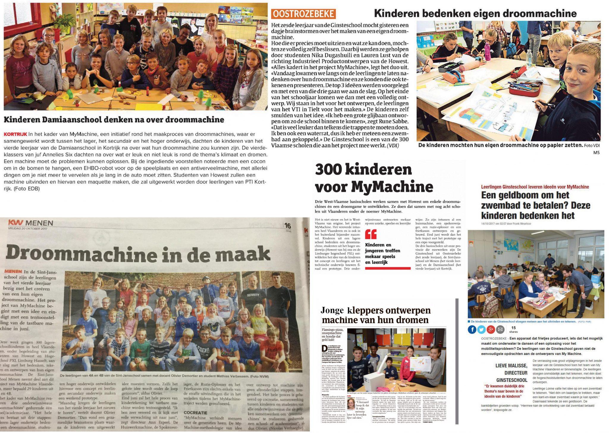 300 kinderen geven hogeschoolstudenten een onmogelijke opdracht:  'Ontwerp mijn droommachine'!