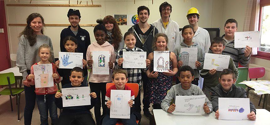 Co-creatie sessie in lager onderwijs door hogeschoolstudenten