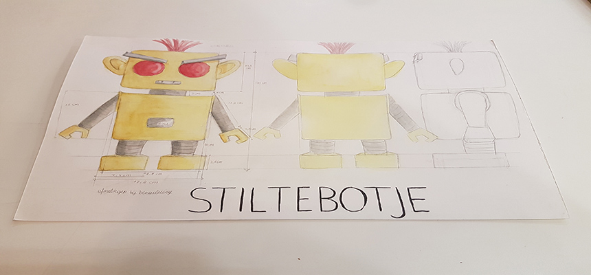In de maak: prototype Stiltebotje